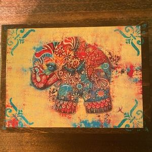 If not now...when? Elephant Trinkets Box